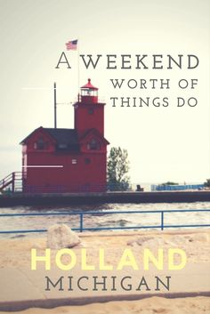 Holland Michigan for the weekend. Need a cozy college town with fun, water, food and shops. Look no further. Check out the blog for more.