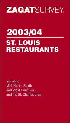 The Zagat Guide (a Google subsidiary), is currently soliciting contributions to its St. Louis database. And if you're clever enough, you can snag a gift package worth $400.  Click to learn how.