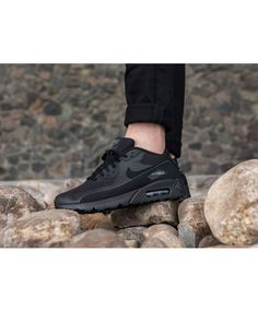 new concept 1125c e0866 Men s Nike Air Max 90 Ultra 2.0 Essential Black Dark Grey 875695-002 All