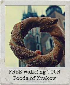 The Obwarzanek - every culinary road in Krakow starts with it! It is a must and you can find the stands selling it throughout the city, almost at every corner. It is one of Krakow's unofficial symbols of the city. It resembles a pretzel / bagel but the difference is that it is first boiled in sweet water, before being baked. First written mention of the obwarzanek dates back to 1394