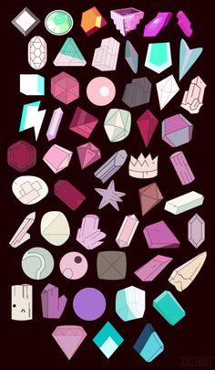 The Gems of Steven Universe