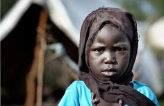 A girl in the Yusuf Batil #refugee camp in South Sudan's Upper Nile State.   COPYRIGHT:Paul Jeffrey