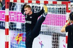 Robin pratique le handball au club du HBC Nantes en Nationale 1, soit la troisième division de la discipline en France. Il évolue au poste de gardien de but.