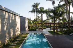 metro arquitetos associados sets art 'pavilion' in são paulo garden, brazil