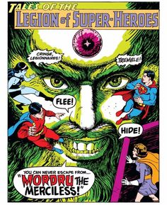 ADVENTURE COMICS #369 (1968)- This iconic splash-page introducing Mordru was both pencilled AND inked by Curt Swan!