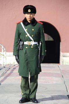 Officier de la place Tian'anmen