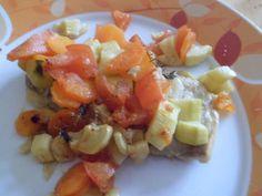 filets de sole aux petits légumes