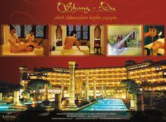 Xanadu Resort Hotel Belek - Shang-Du Spa İlan Tasarımı #Xanadu #Shang-Du #Spa #HighClass Broadway Shows, Spa, Graphic Design, Visual Communication
