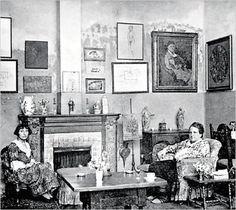 Gertrude Stein & Alice B Toklas
