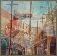 Stop St Bridge Thomas Garner Painting Visual Art Lessons, Oil Painting On Canvas, Paintings For Sale, Urban Art, Art Inspo, Saatchi Art, Original Art, Art Gallery, Gcse Art