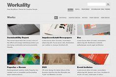 20 Free Wordpress Themes 2013, Responsive WP Themes For Designer   Psdblast