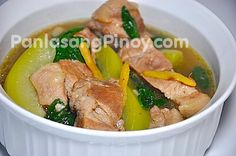 Pork Tinola Recipe