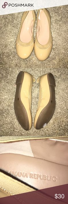 Banana Republic Abby Ballet Shoes Cute and comfortable the Banana Republic Abby Flats are perfect with any clothing outfit. Banana Republic Shoes Flats & Loafers