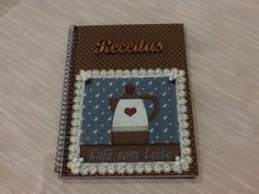 Caderno para receitas!!!