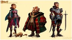 The Settlers 7 story charas 1 by *ChristianNauck on deviantART