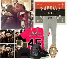 """""""+Power Couple+"""" by deathbydesigner ❤ liked on Polyvore"""