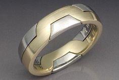 unique men's wedding rings bands