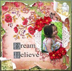 Dream *OUAS/ Meg's Garden/ Dusty Attic/ Helmar* - Scrapbook.com