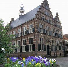 Het mooie stadhuis van Naarden-Vesting