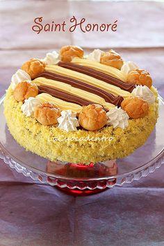 La Cuoca Dentro: Torta Saint Honoré