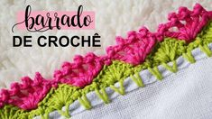 Crochet Boarders, Crochet Edging Patterns, Crochet Designs, Beginner Crochet Projects, Crochet For Beginners, Crochet Videos, Linen Dresses, Crochet Flowers, Crochet Necklace