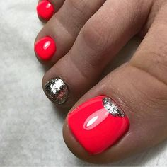 ❤Cute pedicure idea