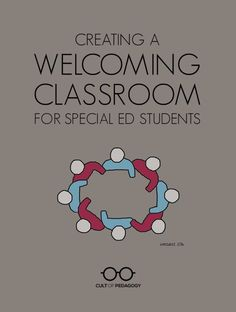 Many regular ed teachers feel inadequately prepared to serve the needs of students with special needs. Here are some ideas. CultofPedagogy.com Kids Education, Special Education, Cult Of Pedagogy, Co Teaching, Dysgraphia, School Community, Learning Disabilities, Your Teacher, Special Needs