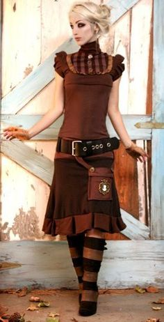 Steampunk Girl  http://steampunk-girl.tumblr.com/