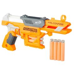 Browse all NERF blaster toys, foam darts, accessories, and sports products. NERF toys encourage kids to get outdoors and active, perfect for the warmer months! Nerf Mod, Play Doh, Arma Nerf, Pistola Nerf, Newest Nerf Guns, Cards Against Humanity Game, Nerf Darts, Papa Noel, Firearms
