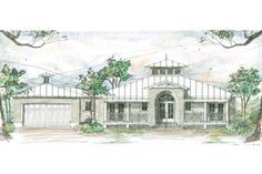 House Plan 426-14  My favorite house plan with a garage. Nice.