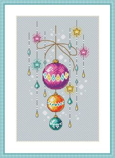 Thrilling Designing Your Own Cross Stitch Embroidery Patterns Ideas. Exhilarating Designing Your Own Cross Stitch Embroidery Patterns Ideas. Cross Stitch Christmas Ornaments, Xmas Cross Stitch, Just Cross Stitch, Cross Stitch Needles, Cross Stitch Baby, Cross Stitch Charts, Christmas Cross Stitch Patterns, Cross Stich Patterns Free, Cat Cross Stitches
