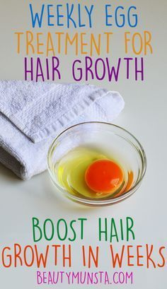 How To Do A Weekly Egg Treatment for Hair - beautymunsta - free natural beauty hacks and more!
