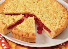 Песочный пирог с вареньем рецепт