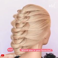 wedding hair videos Elegant and easy to do wedding updos By: Another Braid Front Hair Styles, Medium Hair Styles, Easy Hairstyles For Long Hair, Girl Hairstyles, Female Hairstyles, Hairstyle Men, Hairstyles 2018, Wedding Hairstyles Tutorial, Elegant Updo