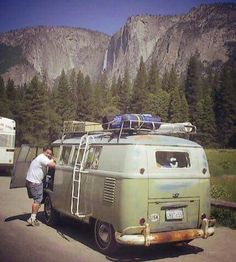 Vw mango in yosemite