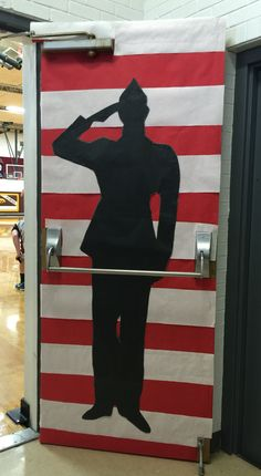 Silhouette Of A Soldier Graphic Made In Photoshop With A
