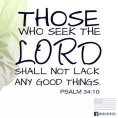 Seek the Kingdom of God first...