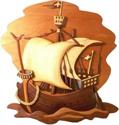 Image detail for -merchant_ship_intarsia%20woodworking_patterns.jpg