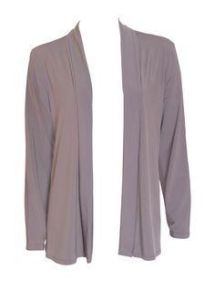 NONI B Travel Shrug    $49.95  Easy to wear, soft lapel long sleeve shrug, non crease Polyester/Elastane    Item Code: 042495