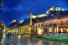 File:Trencin town, Slovakia - HDR photo, wish I knew who the photographer was, would be so happy to give credit, one of the most beautiful photos I've seen. Photography Sites, World Photography, Outdoor Photography, Fotografia Hdr, Hdr Pictures, Amazing Pictures, Heart Of Europe, Ldr, Nature Photos