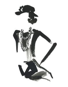 Coco Chanel by Miyuki Ohashi, prints @buddyeditions