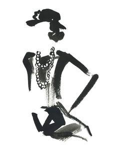 Coco Chanel by Miyuki Ohashi, prints @buddyeditions