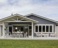 Family Bunker Plans 353040058281553233 - This Taranaki new-build with a heritage soul is the family home this young couple had long envisioned – and holds a special link to a beloved dad Source by Best House Plans, Small House Plans, Inside Home, Country Style Homes, Country Life, Country Living, Facade House, French Country Decorating, Outdoor Areas
