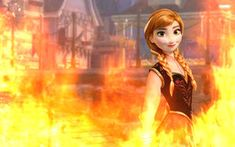 I of course do not own these characters Fire and Ice art version 1 Fire and Ice/ Anna and Elsa Disney Princess Frozen, Ice Art, Disney Crossovers, Fire Powers, Fire And Ice, Equestria Girls, Disney Girls, Tangled, Brave