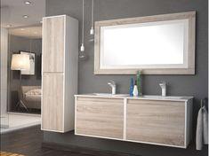 Valencia White And Caledonia Wall Hung Vanity Basin And Mirror - Vanity Basins - Basins - Bathroom Wall Hanging, Vanity Basin, Vanity, Wall Hung Vanity, Lighted Bathroom Mirror, Wall, Bathroom Mirror, Bathroom, Mirror