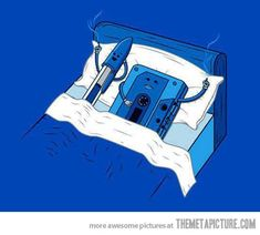 Ha!  A relationship that new generations will never know about…