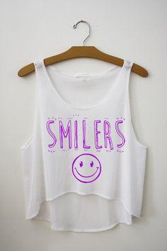 Smilers Crop Top