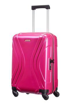 American Tourister Vivotec Spinner 55cm Hot Pink