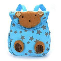 Hipiwe Baby Toddler Walking Safety Backpack Little Kid Boys Girls Anti-lost  Travel Bag Harness Reins Cute Cartoon Penguin Mini Backpacks w… ea3f3a1313