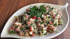 Antakya Usulü Çökelek Salatası Enfes Tat